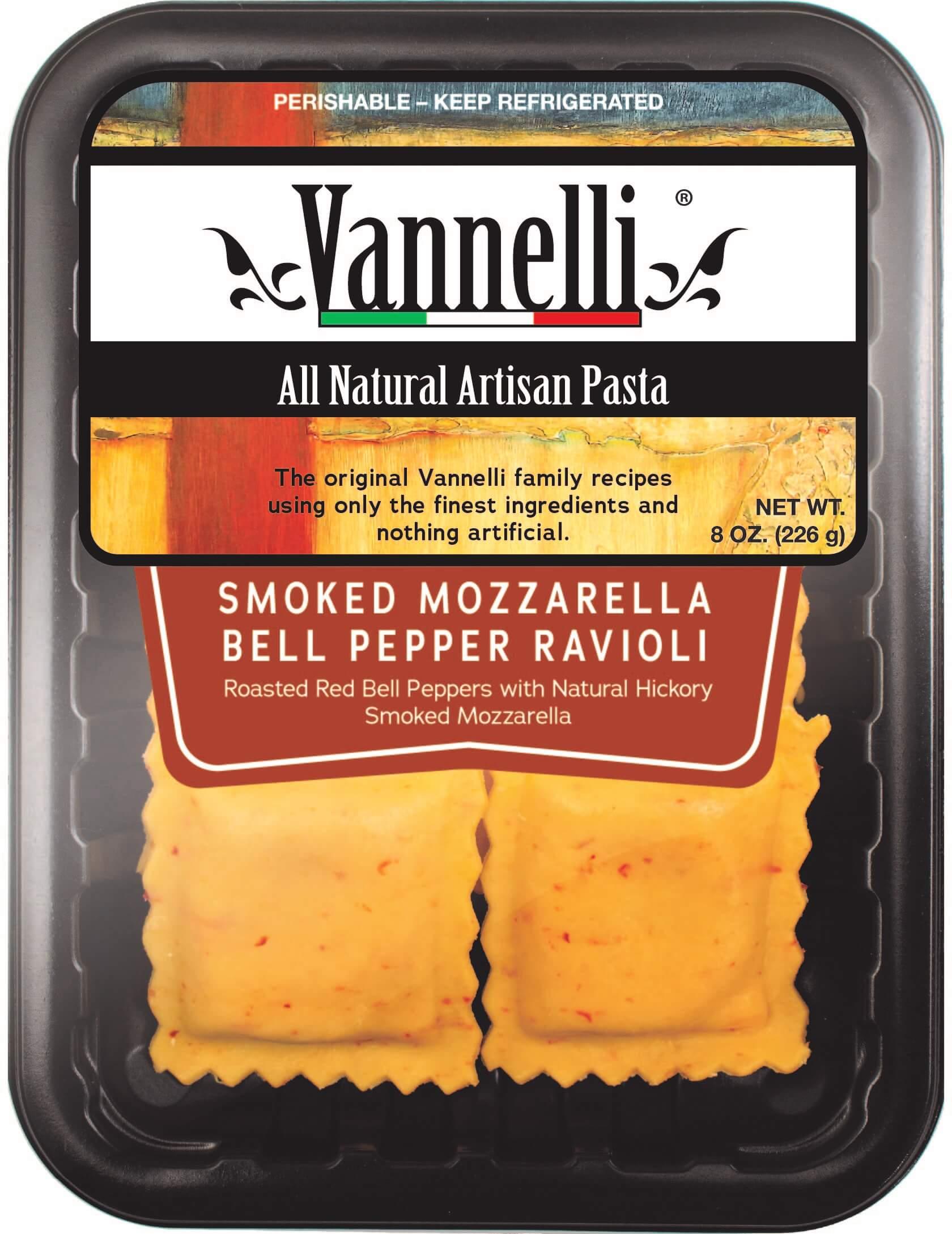 Smoked Mozzarella Ravioli
