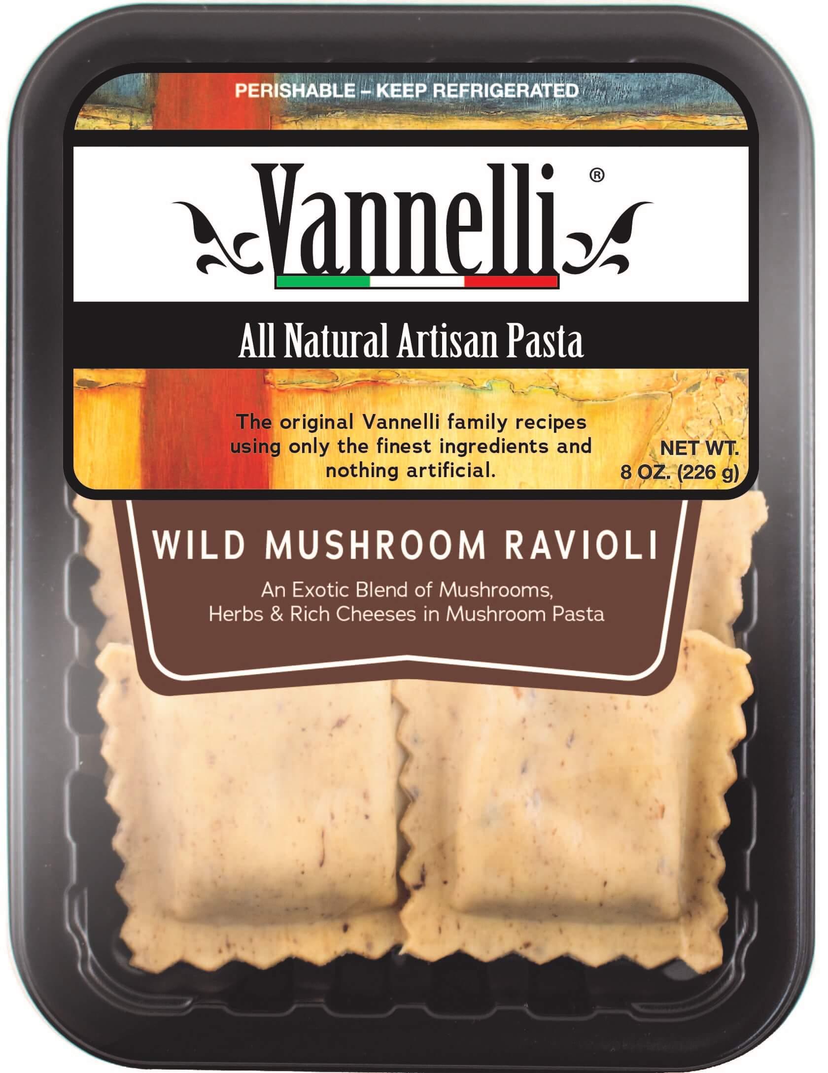 Wild Mushroom Ravioli